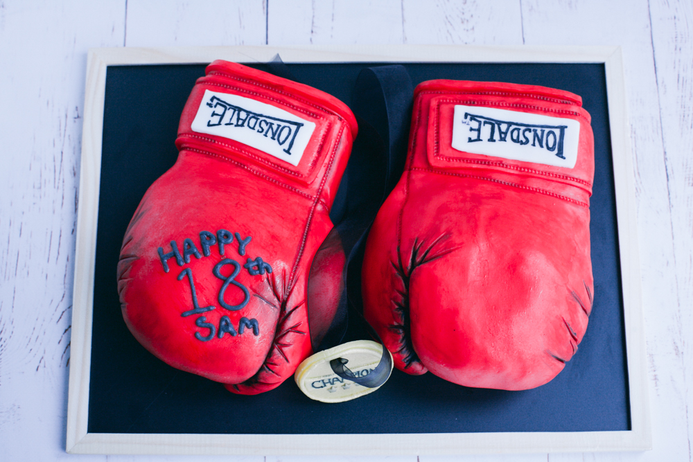How To Make A Boxing Glove Cake Monalogue