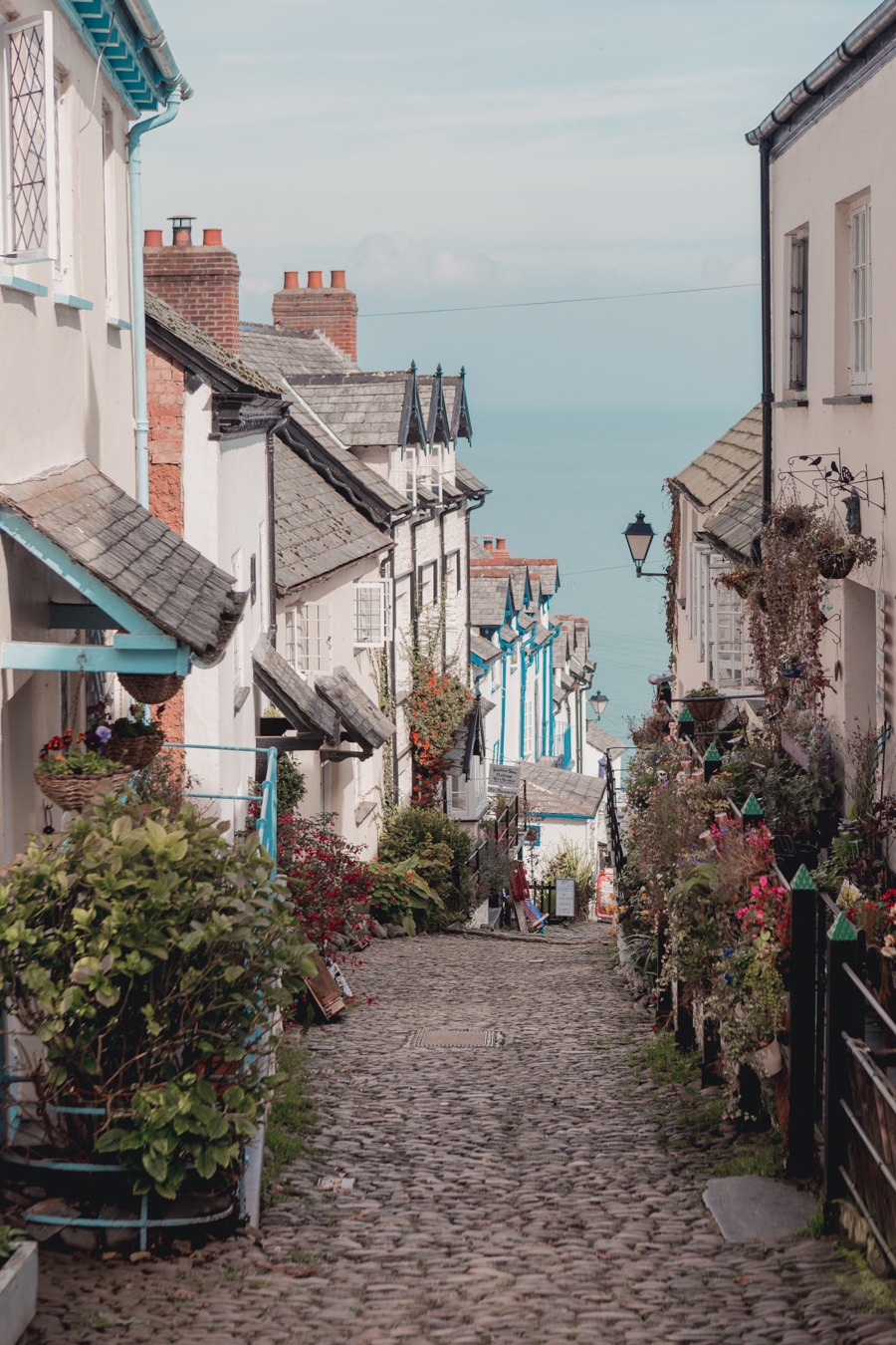 Cobbled Streets in Clovelly, North Devon