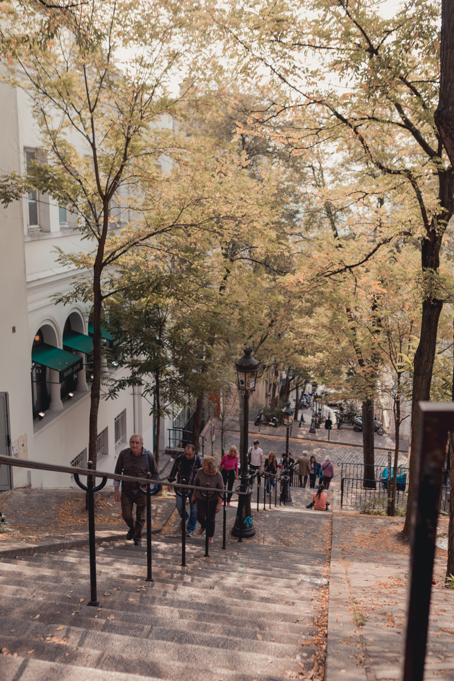 Montmarte Paris in Autumn