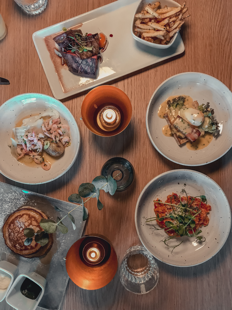 Brunch at Norda Bar, The Clarion Post Hotel